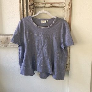 Anthropologie - Deletta - Super Cute Flowy Tshirt